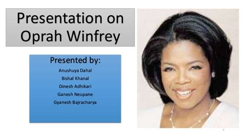 oprah winfrey biography resume write a science lab