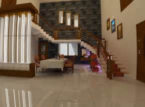 house interior design pictures kerala stairs evens construction pvt ltd dining and stair area