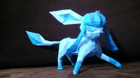 Glaceon Papercraft - glaceon papercraft by patrykgpl on deviantart