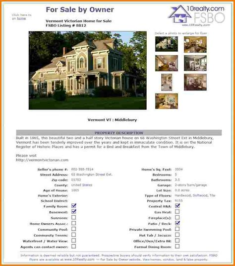 real estate brochure templates free free real estate flyer templates authorization