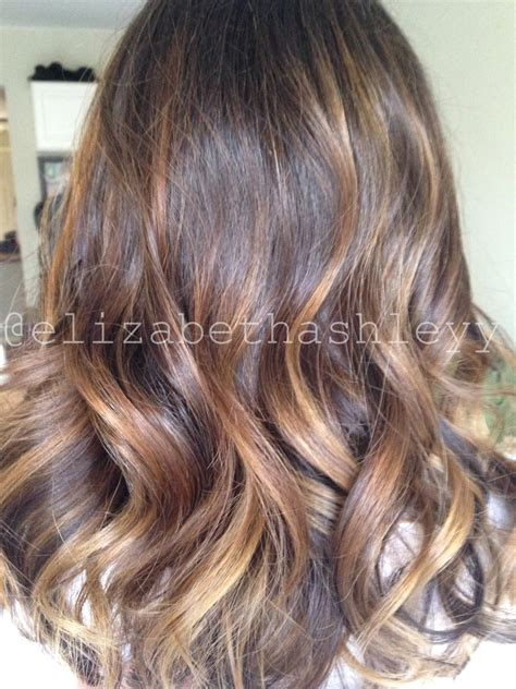 medium balyage hairstyles balayage highlights brunette balayage medium length