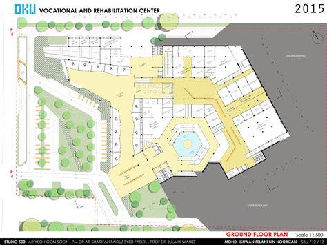 rehabilitation center floor plan oku vocational and rehabilitation center ifelani