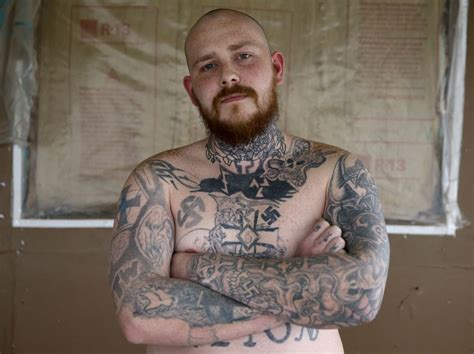 white supremacist tattoos former white supremacists help others leave groups