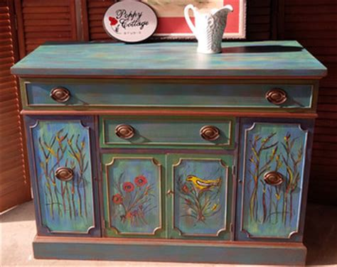Country Home Decore painted furniture etsy
