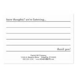 comment cards template comment card large business cards pack of 100 zazzle