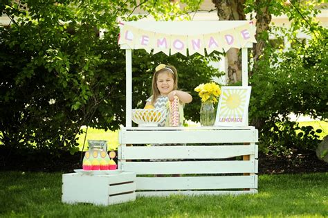 stand ideas creative with lemonade stand ideas for your