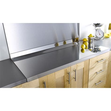 Credence Ikea 270 by Plan De Travail Inox Brillant L 120 X P 60 Cm Ep 42 Mm