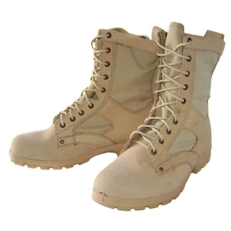 russian tactical desert suede leather airsoft boots by btk