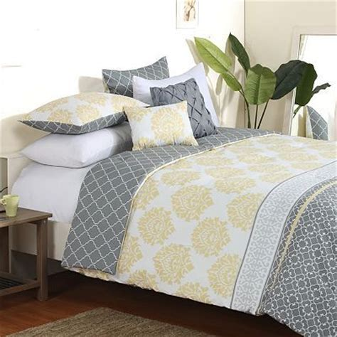 yellow and grey bedding fel7 35 best images about yellow and grey bedding on