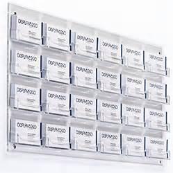 Business Card Wall Holder