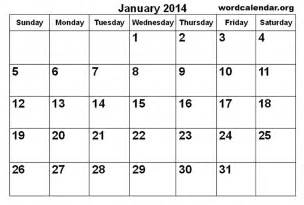january 2014 calendar template 6 best images of january 2014 monthly calendar printable