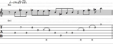 easy blues rock lick  electric guitar