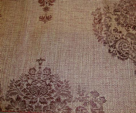 sparkle upholstery 55 quot wide wine damask metallic sparkle upholstery drapery