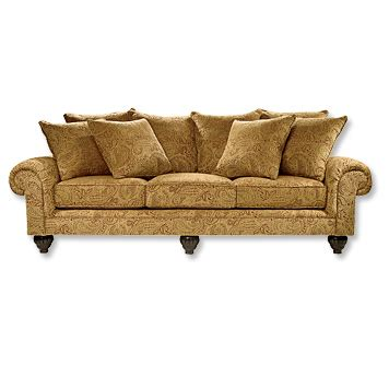 chenille fabric sofa long chenille fabric sofa highland sofa orvis