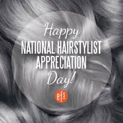 when is national hairdressers day today is national hairstylist appreciation day don t