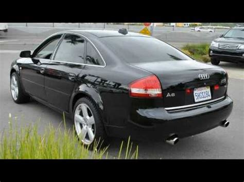 how to work on cars 2004 audi a6 engine control used 2004 audi a6 san rafael ca youtube