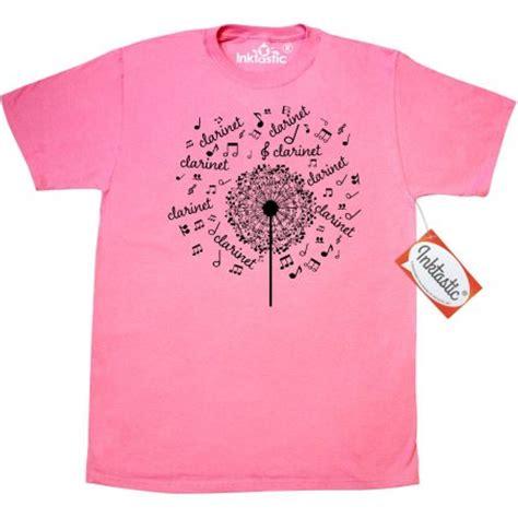 inktastic clarinet player gift t shirt clarinetist