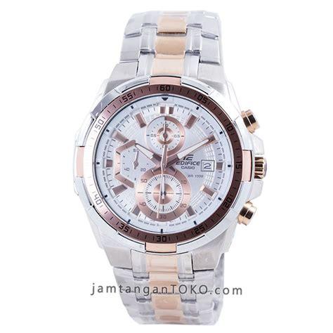 Casio Edifice 539 Sc 2 Warna harga sarap jam tangan edifice efr 539sg 7a5 silver