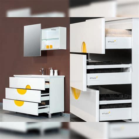 kit tiroir vantage q hauteur 83 mm blanc emuca bricozor