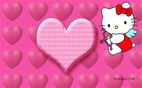 wallpaper hello kitty san valentin wallpaper hello kitty en el d 237 a de los enamorados