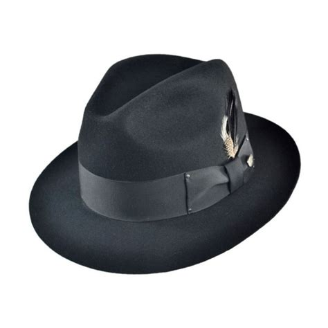 all fedoras where to buy all fedoras at village hat shop bailey gangster fedora hat all fedoras
