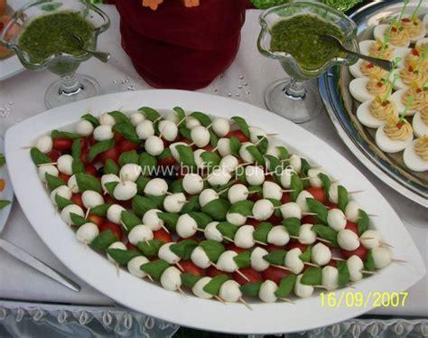 Kalte Platten Anrichten by Babymozzarella Kochen Kalte Platten