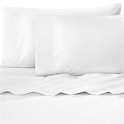 bed bath and beyond williamsburg buy williamsburg 400 thread count twin sheet set in white