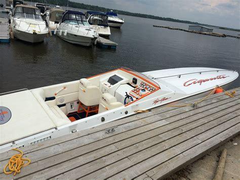 cigarette boat for sale canada cigarette top gun 1987 for sale for 39 000 boats from