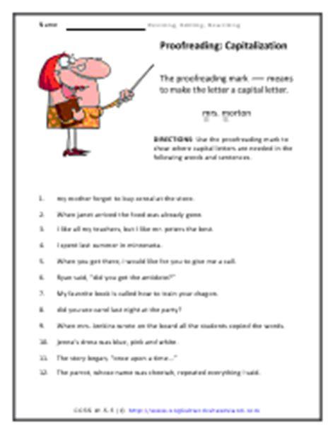 Editing And Revising Worksheets by Revising Editing And Rewriting Worksheets