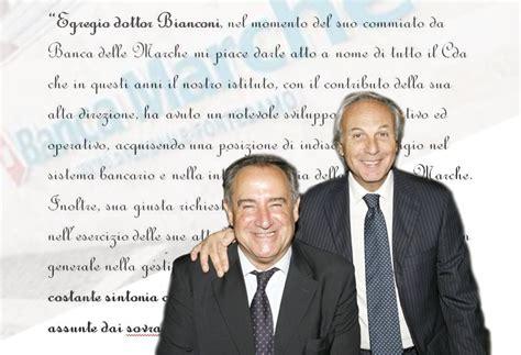 Banca Delle Marche Orari by Il Saluto Di Banca Marche A Bianconi Ha Agito In Sintonia