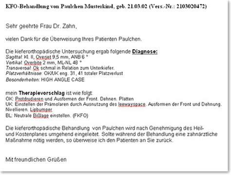 Anrede Offizieller Brief Per Du Praxisverwaltungssoftware H K F 252 R Die Kfo Praxis