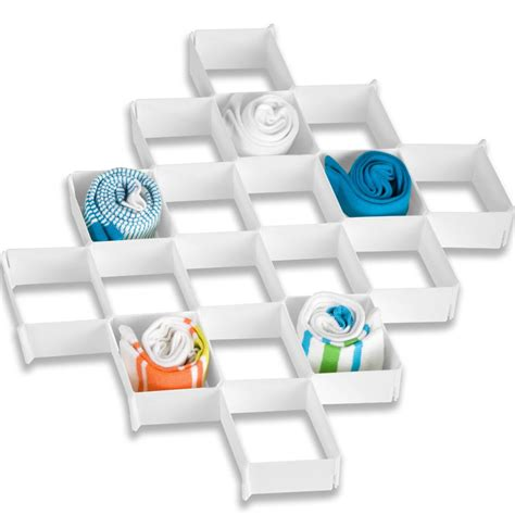 32 compartment drawer organizer 32 compartment drawer organizer by honey can do in closet