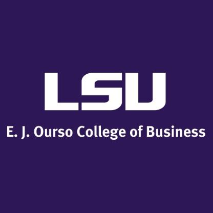 Lsus Mba Graduate Salary by E J Ourso College Of Business