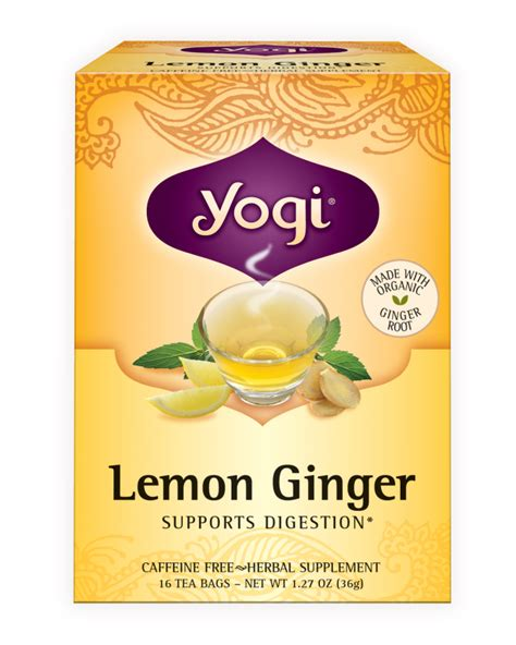 Yogi Lemon Detox Tea by Lemon Yogi Tea