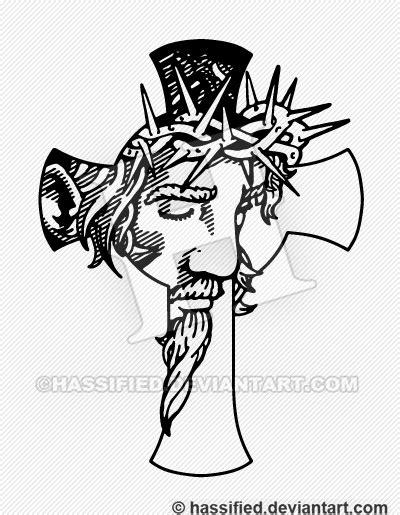 jesus cross version 2 by hassified on deviantart