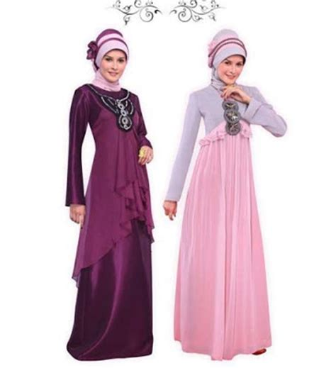 Promo Gamis Baju Muslim Syar I Gaun Ramona Dress model baju gaun atau gamis pesta muslimah modern 2015