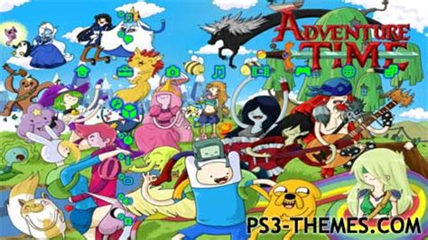 theme psp adventure time ps3 themes 187 adventure time 4