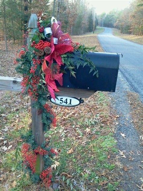 17 best ideas about christmas mailbox decorations on