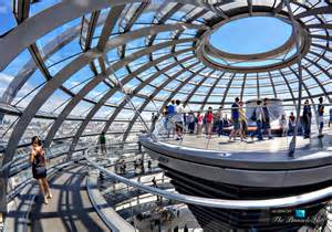 Glass Cupola The Reichstag Dome A Sculpture Of Light Above Government