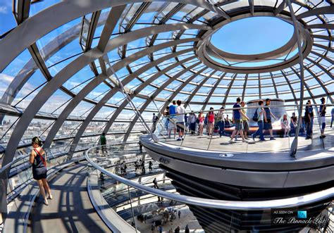 80 Square Meters by The Reichstag Dome A Sculpture Of Light Above Government