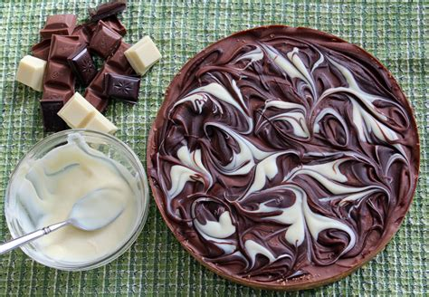 Link Marbled Caramel Chocolate Slices by Marbled Chocolate Caramel Tart The Thrifty Squirrels