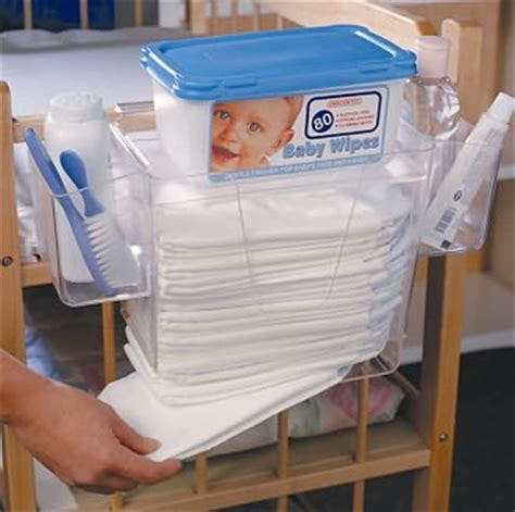 changing table side organizer prince lionheart depot organizer for changing table
