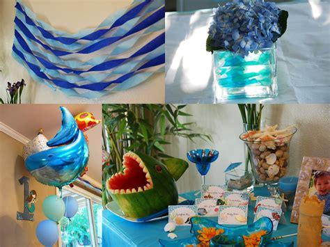 The Sea Birthday Decorations by All Things Elise Alina Alina S Birthday