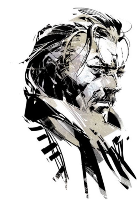 more mgsv character designs by shinkawa snake ocelot