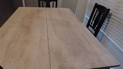 restoring an wood dining room table 3 family