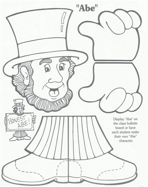presidents day coloring pages preschool presidentsdaybulletingborad jpg 1 268 215 1 600 pixels