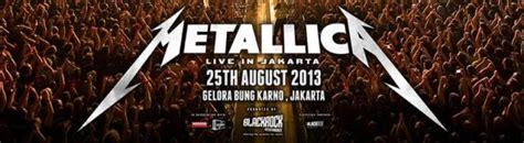metallica concert indonesia jakarta governor attends metallica concert metal4all