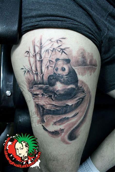 panda tattoo shanghai tattoo flickr