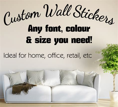 personalized wall stickers personalized wall decals