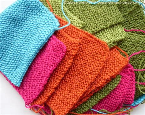 how to knit a square in the bugs and fishes by lupin simple squares
